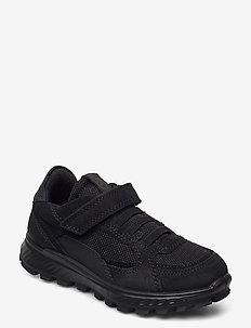 EXOSTRIKE KIDS - lave sneakers - black/black/black