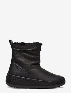 UKIUK 2.0 - flat ankle boots - black