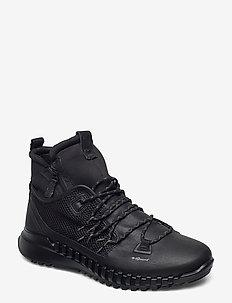 ZIPFLEX M - veter schoenen - black