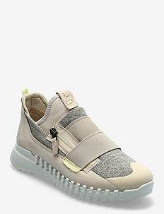ZIPFLEX W - lave sneakers - limestone/limestone
