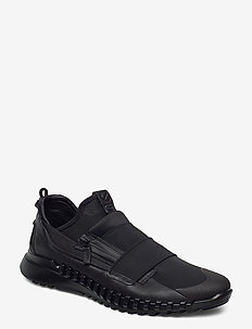 ZIPFLEX M - baskets slip-ons - black/black
