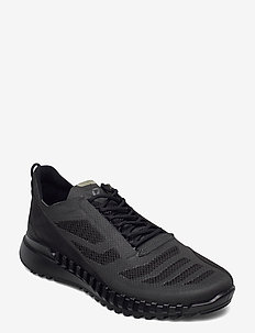 ZIPFLEX M - låga sneakers - black/black