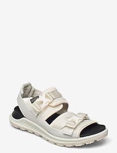 EXOWRAP W - flat sandals - white/white