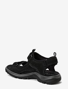 OFFROAD - płaskie sandały - black