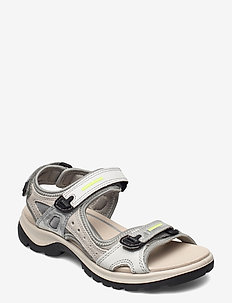 OFFROAD - flat sandals - multicolor silver metallic