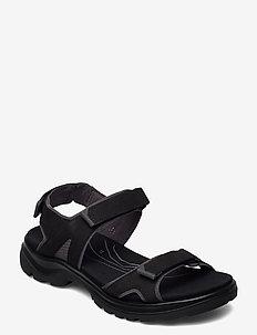 OFFROAD - flat sandals - black