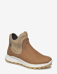 EXOSTRIKE W - flat ankle boots - camel