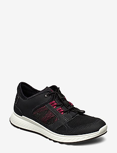 EXOSTRIDE W - low top sneakers - black/sangria