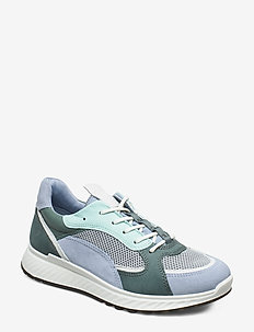 ST.1 W - sneakers med lav ankel - dusty blue/white/concrete/lake