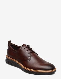 ST.1 HYBRID - laced shoes - cognac