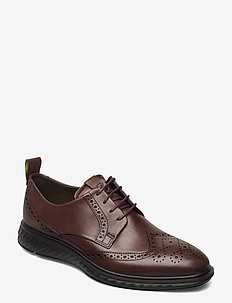 ST.1 HYBRID LITE - brogues - cocoa brown
