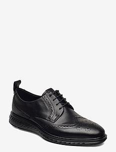 ST.1 HYBRID LITE - laced shoes - black