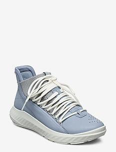 ST.1 LITE W - high top sneakers - dusty blue/concrete