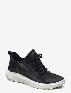 ST.1 LITE W - low top sneakers - black/black