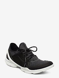 BIOM STREET W - low top sneakers - black/black