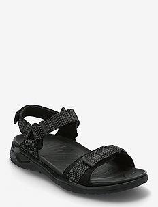 X-TRINSIC M - sandały - black/black