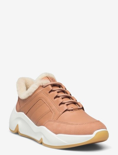 CHUNKY SNEAKER W - lave sneakers - toffee/toffee/toffee