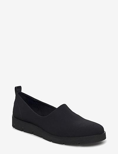 BELLA - loafers - black/black