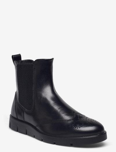 BELLA - chelsea støvler - black