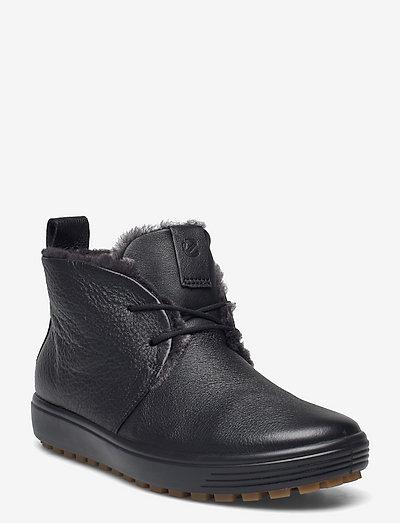SOFT 7 TRED W - flade ankelstøvler - black