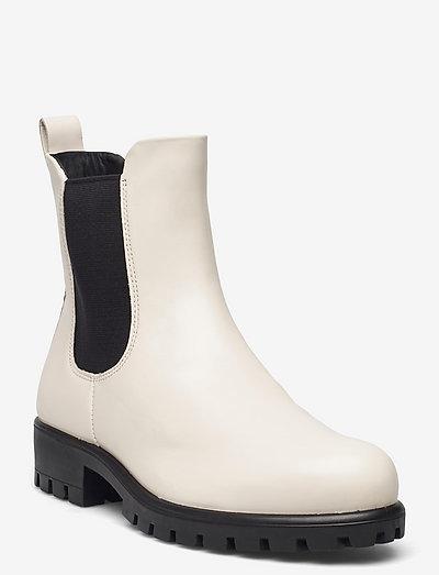 MODTRAY W - chelsea støvler - limestone