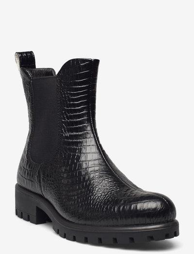 MODTRAY W - chelsea støvler - black