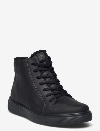 STREET TRAY K - vinterstövlar - black/black