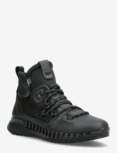 ZIPFLEX W - høje sneakers - black/black
