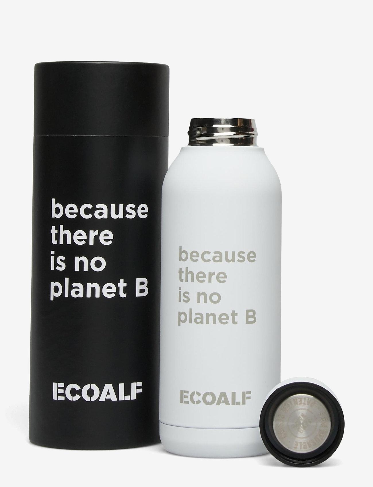 ECOALF - BRONSON STAINLESS STEEL BOTTLE - vannflasker og termoser - off white - 0