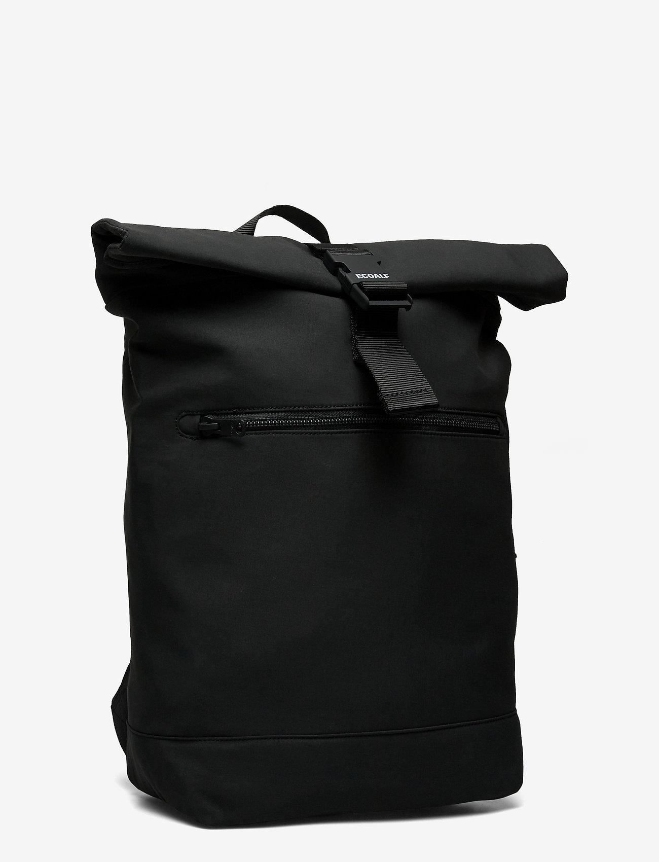 ECOALF - GINZA BACKPACK - sacs a dos - black - 2