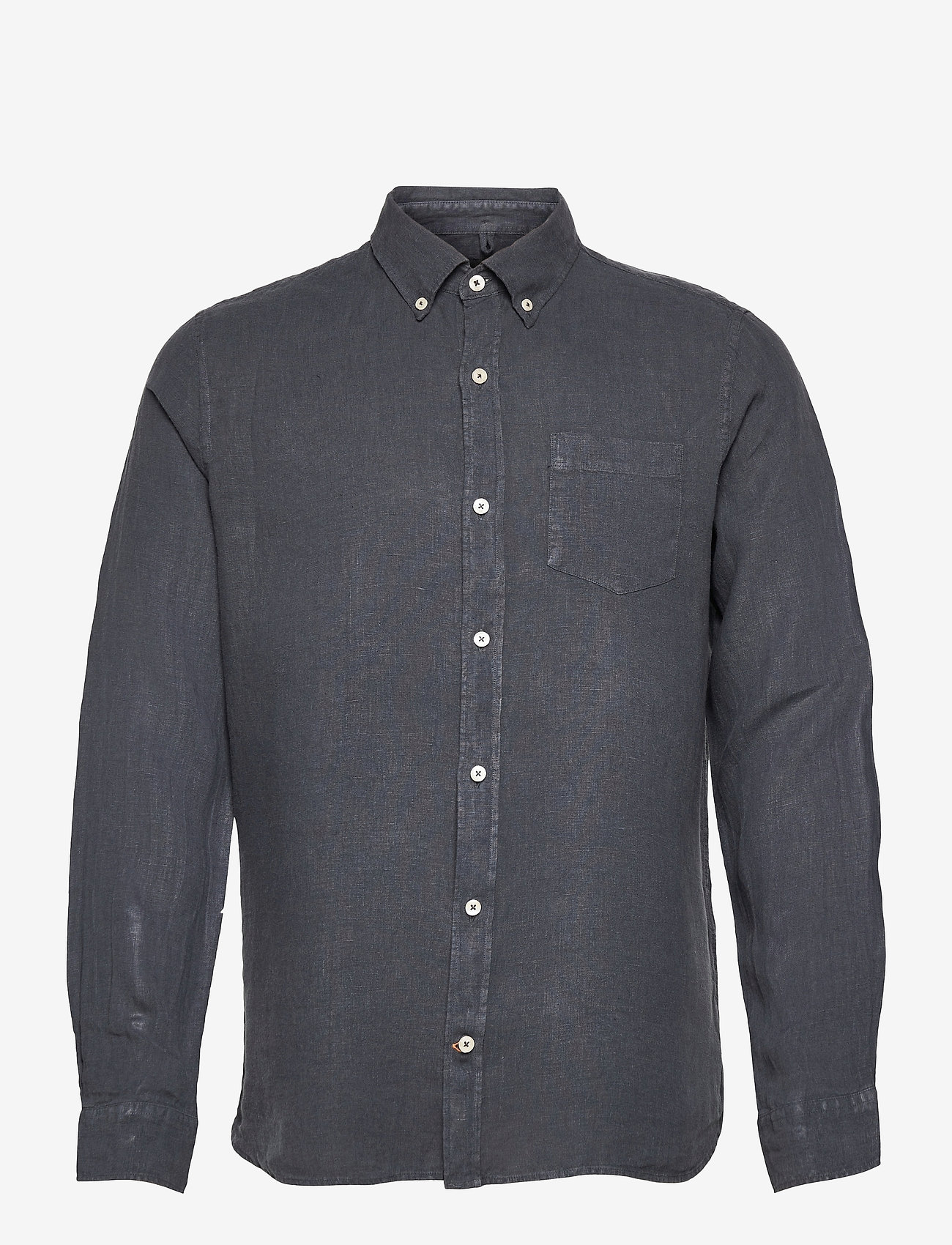 ECOALF - MALIBU SHIRT MAN - geruite overhemden - caviar - 0