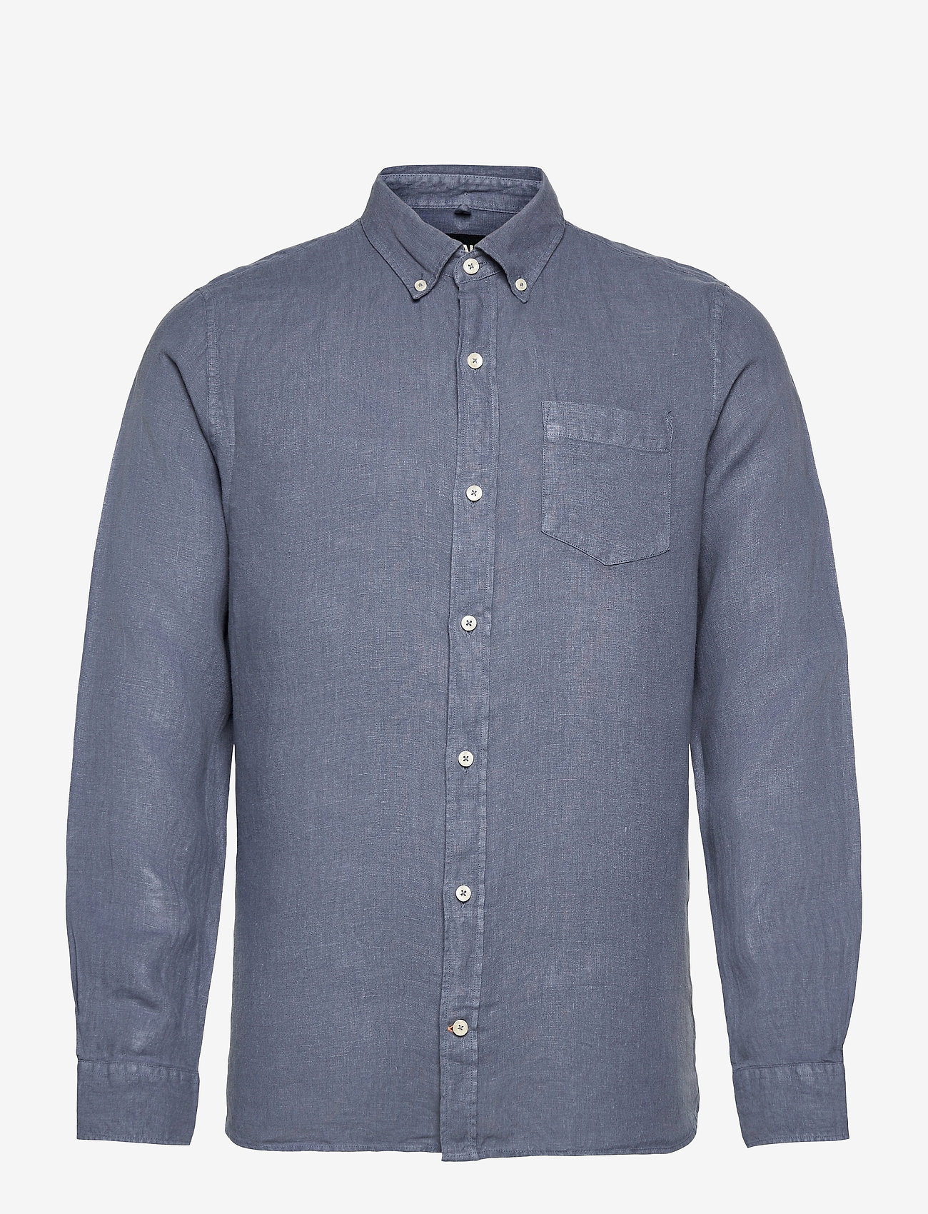 ECOALF - MALIBU SHIRT MAN - chemises à carreaux - grey blue - 0