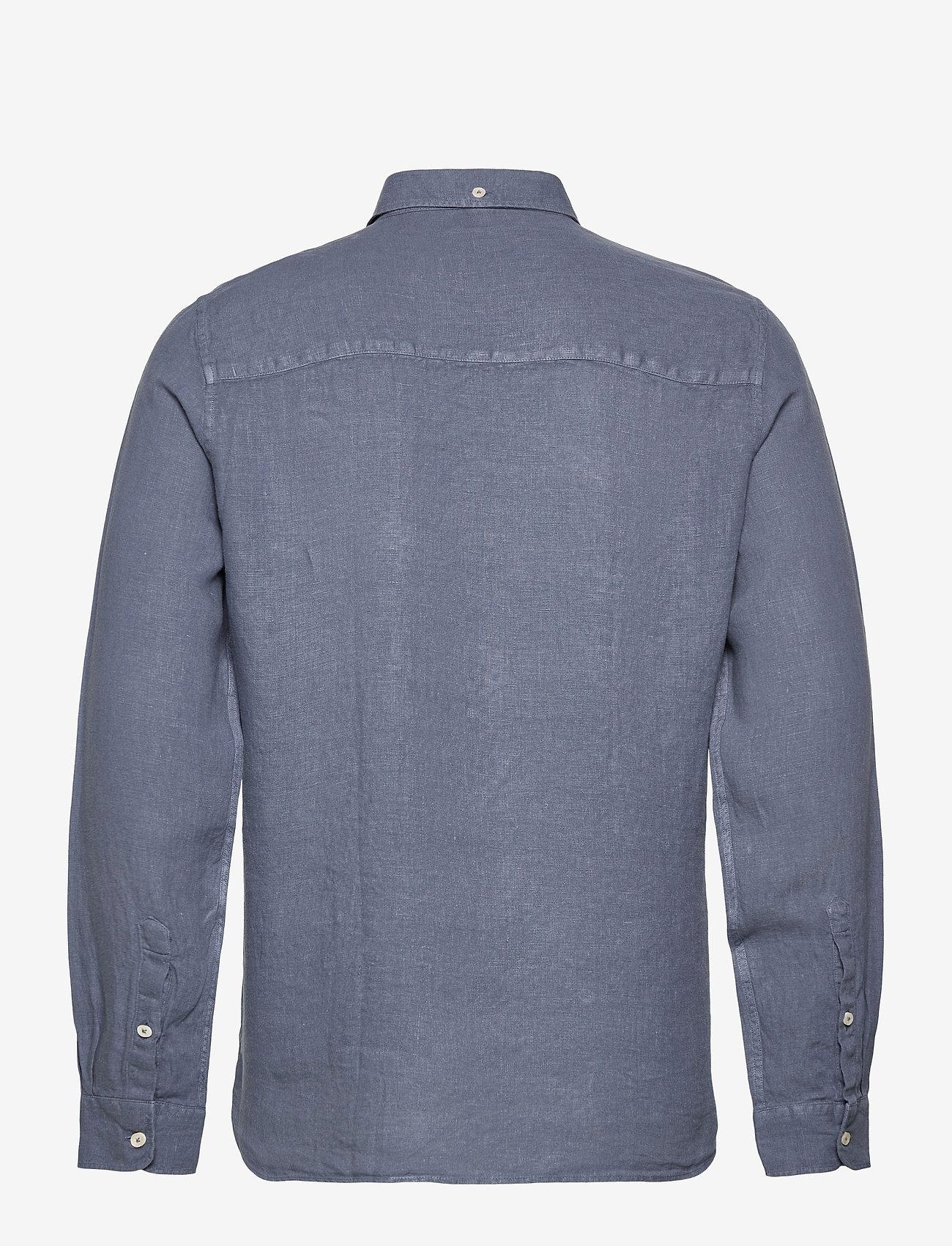 ECOALF - MALIBU SHIRT MAN - chemises à carreaux - grey blue - 1