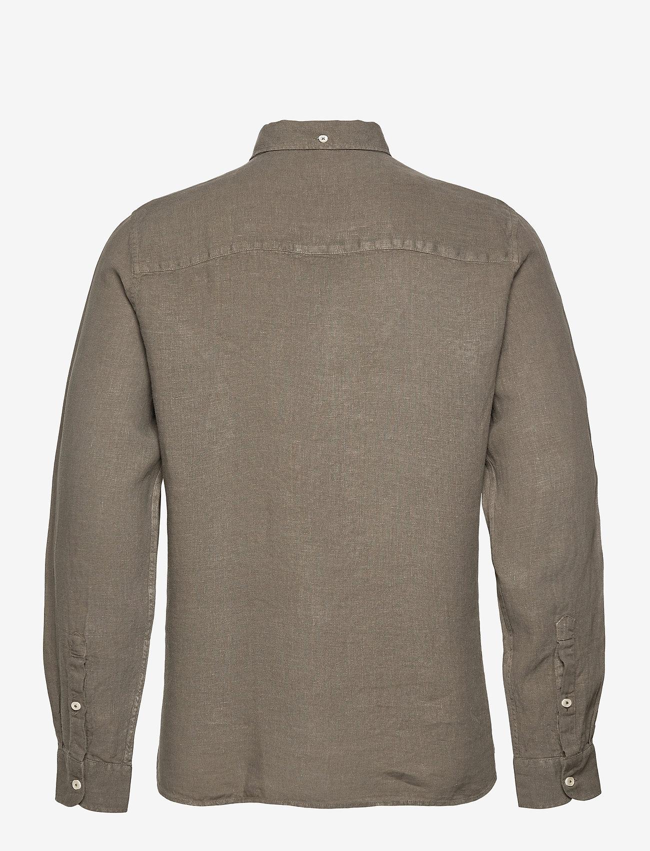 ECOALF - MALIBU SHIRT MAN - geruite overhemden - khaki - 1