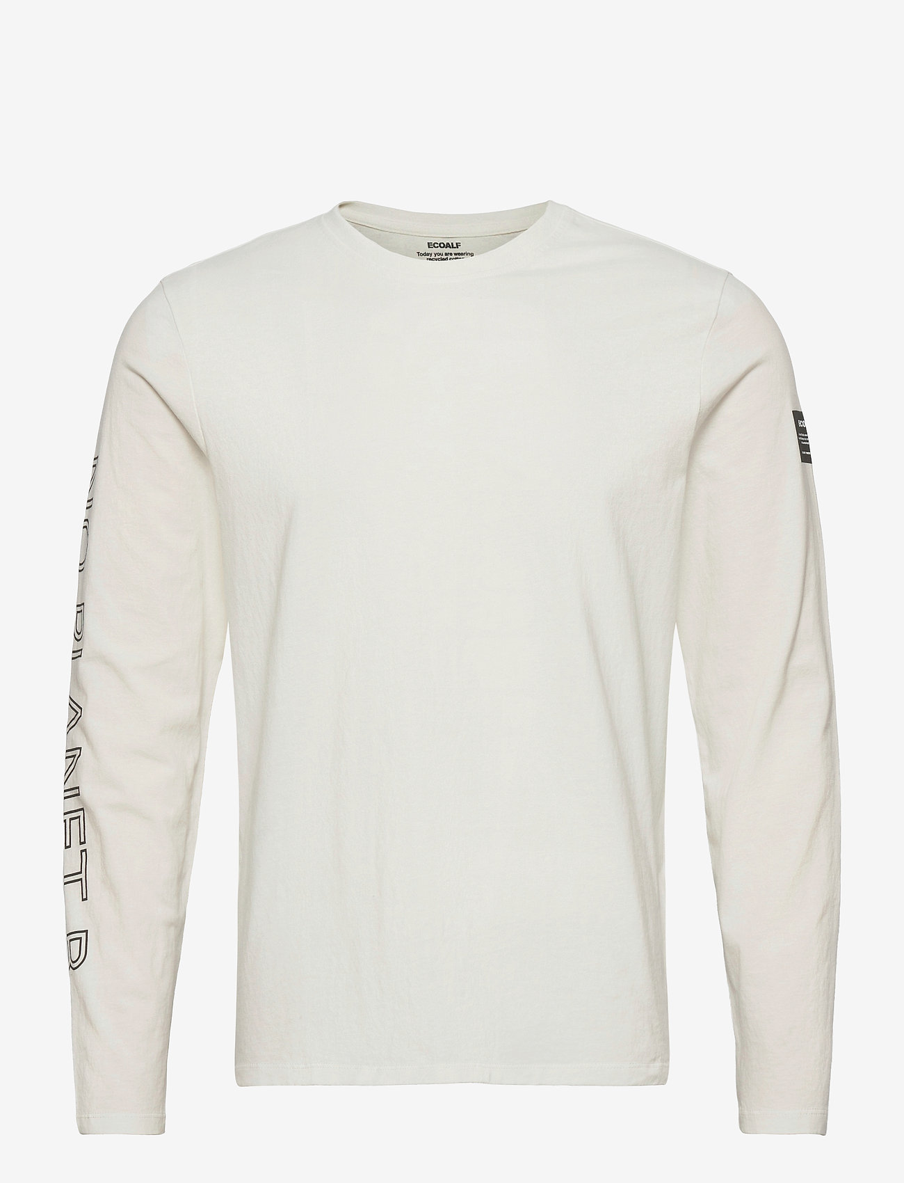 ECOALF - NANKIN LONG SLEEVE T-SHIRT MAN - t-shirts basiques - off white - 0