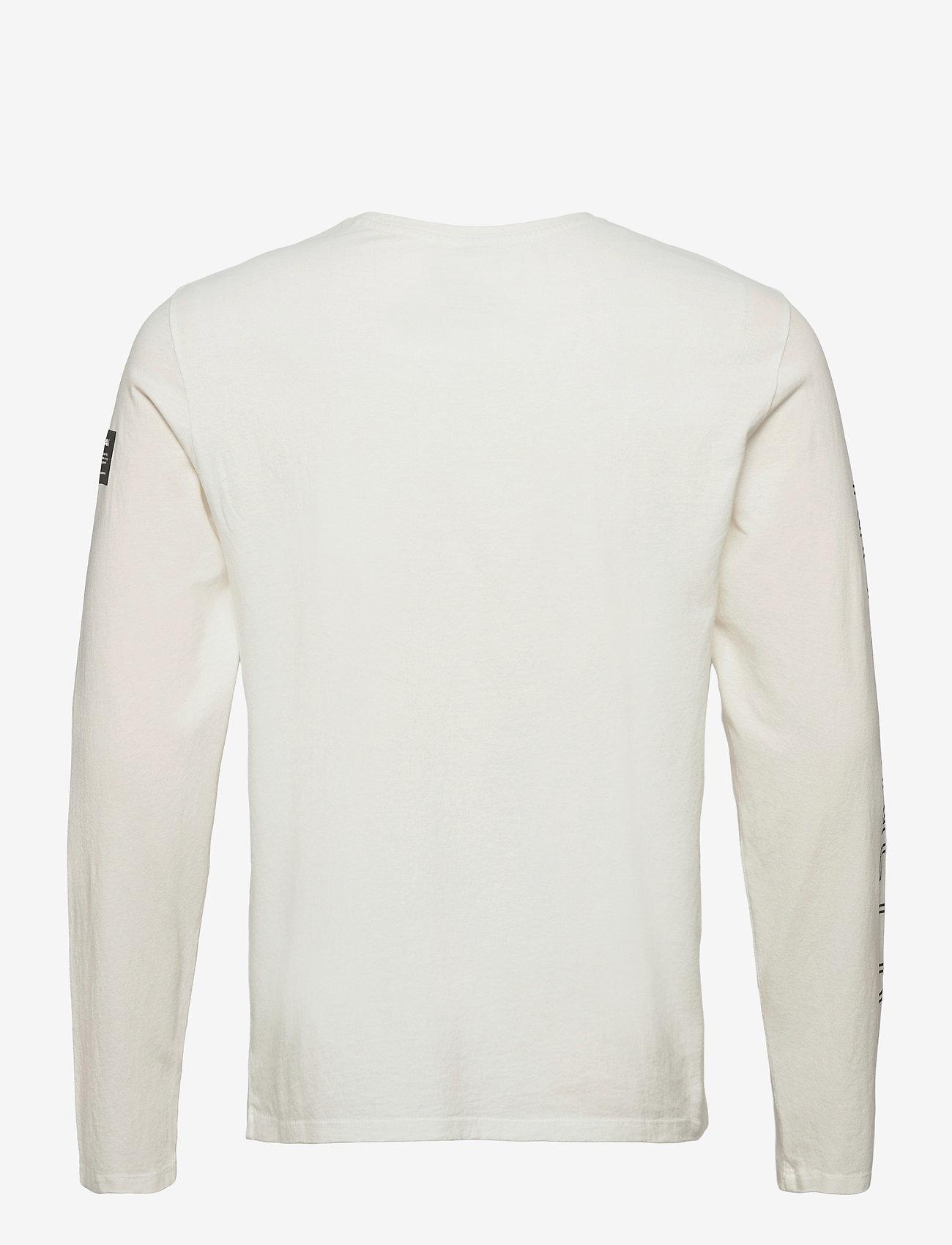 ECOALF - NANKIN LONG SLEEVE T-SHIRT MAN - t-shirts basiques - off white - 1