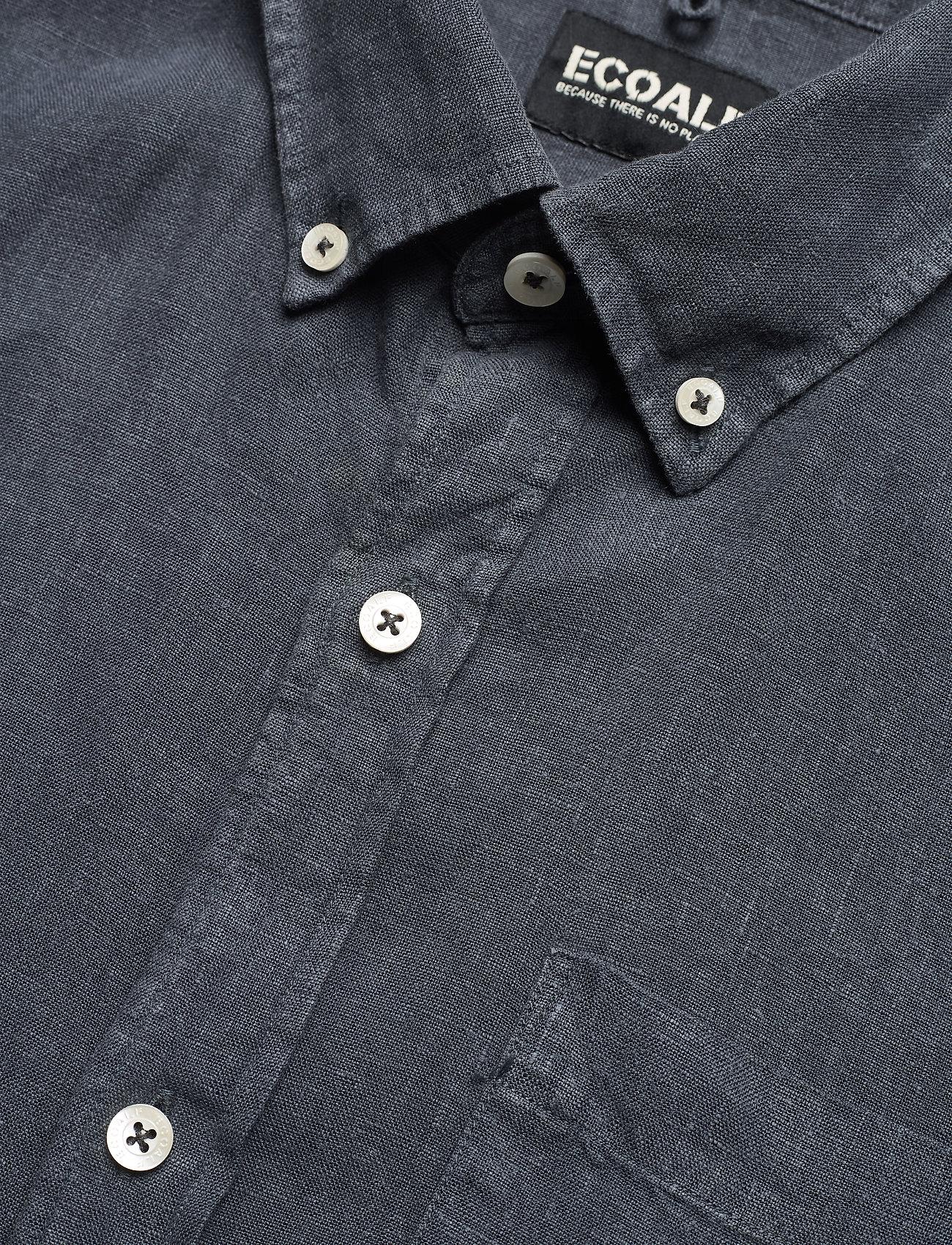 ECOALF - MALIBU SHIRT MAN - geruite overhemden - caviar - 3