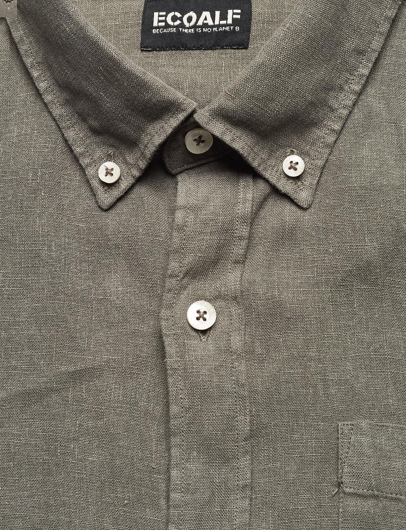 ECOALF - MALIBU SHIRT MAN - geruite overhemden - khaki - 2