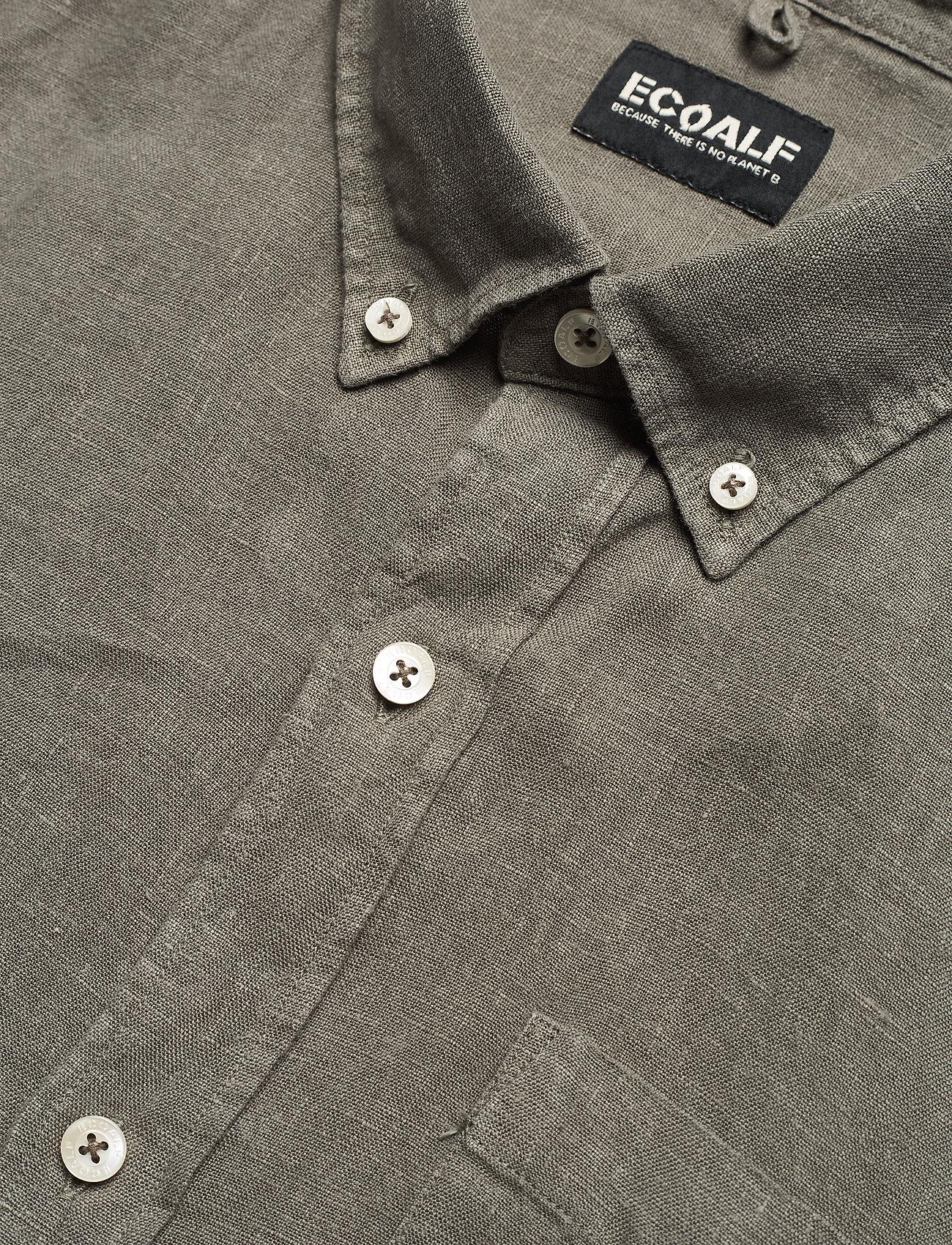 ECOALF - MALIBU SHIRT MAN - geruite overhemden - khaki - 3
