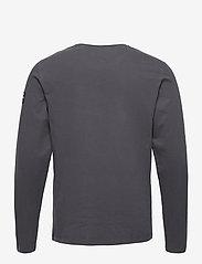 ECOALF - NANKIN LONG SLEEVE T-SHIRT MAN - t-shirts basiques - caviar - 1