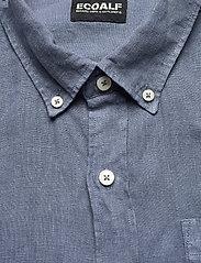 ECOALF - MALIBU SHIRT MAN - chemises à carreaux - grey blue - 2