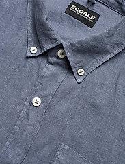 ECOALF - MALIBU SHIRT MAN - chemises à carreaux - grey blue - 3