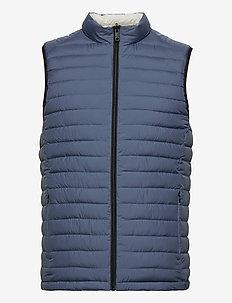 WALES VEST MAN - vesten - grey blue