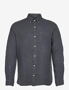 MALIBU SHIRT MAN - geruite overhemden - caviar