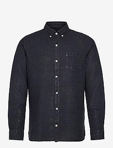 MALIBU SHIRT MAN - rutede skjorter - navy