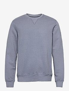 SAN DIEGO SWEATSHIRT MAN - truien - grey blue