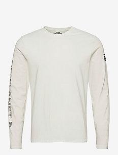 NANKIN LONG SLEEVE T-SHIRT MAN - basic t-shirts - off white