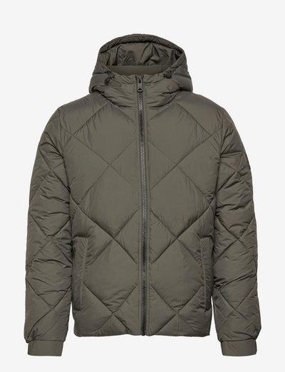 BREDA JACKET MAN - vestes matelassées - dark khaki