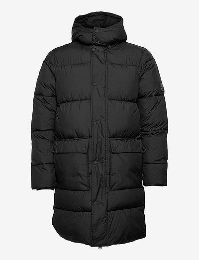 LUJAR LONG JACKET MAN - vestes matelassées - black