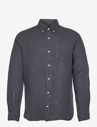 MALIBU SHIRT MAN - koszule w kratkę - caviar
